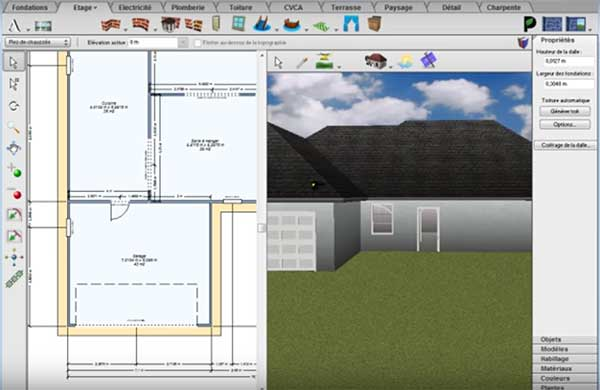 comment creer la toiture architecte 3d